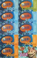 1/ Austria; Klax-max, 21 Old Prepaid GSM Cards - Autriche