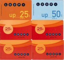 2/ Austria; Loop, 6 Old Prepaid GSM Cards - Autriche