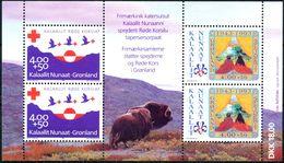 GREENLAND 1993 SG MS254 ANNIVERSARIES MNH - Neufs
