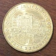 64 SAINT-JEAN-DE-LUZ MÉDAILLE TOURISTIQUE MONNAIE DE PARIS 2007 JETON MEDALS COINS TOKENS - Monnaie De Paris
