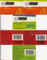 12/ Cyprus; CYTA, 4 Old Prepaid GSM Cards - Chypre