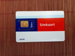 GSM Card Telfort (mint,Neuve) 2 Scans  Rare - Pays-Bas