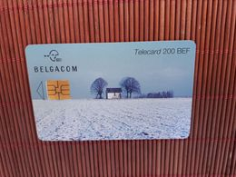 Phonecard Seazon The Winter Useed - Belgique
