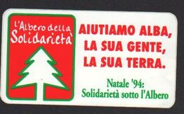 Stikers Adesivo Alba Cuneo Natale 1994 Christmas Autocollant Noël FAS00011 - Vignettes Autocollantes