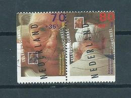 1994 Netherlands Pair Summer Welfare,coil/ongetand Used/gebruikt/oblitere - Periodo 1980 - ... (Beatrix)