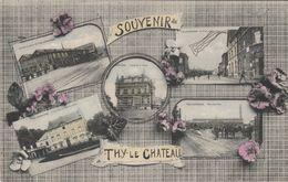 Souvenir De THY-LE-CHATEAU ,  Multivues Couleur, ( Walcourt , Berzée , Pry , Gourdinne ) - Walcourt
