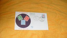 ENVELOPPE FDC DE 1960../ LA SEMEUSE FRANC NOUVEAU...CACHETS PARIS R.P. PHILATELIE + TIMBRE - FDC