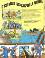 """PUB ALBUM  """" LES TUNIQUES BLEUES """" """" LES BBLEUS DE LA MARINE   """"   1976 ( 1 ) - Objets Publicitaires"""