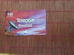 Phonecard 50 $ Satelite 3NZLE Used Very Rare - Nouvelle-Zélande