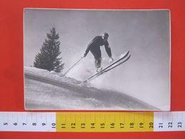 CA.16 ITALIA CARD 1941 TORINO SPORT SCI DISCESA SALTO X ANDORNO BIELLA - Winter Sports