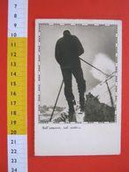 CA.16 ITALIA CARD 1942 SPORT SCI NEVE SANTA CROCE SULL' ARNO PISA TELEGRAFO POSTA A MILITARE - Winter Sports