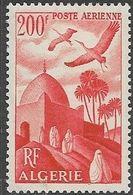 Algeria   1949  Sc#C10  Storks Airmail  MH     2016 Scott Value $10.50 - Algeria (1924-1962)
