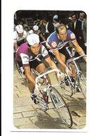 BE97 - FIGURINE SPORT CARD - GIUSEPPE SARONI  - 7 X 11 CM - Cycling