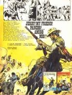"""PUB ALBUM  """" JERRY SPRING  """" """" L'OR DE PERSONNE / JERRY CONTRE KKK """"   1975 ( 1 ) - Objets Publicitaires"""
