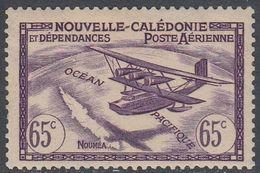 New Caledonia 1942 - Airmail Stamp: Breguet Br 530 Saigon Over Nouméa - Mi 289 * MH [1073] - New Caledonia