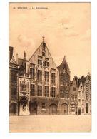 WW1 - Feldpost 1915 - BRUGES - La Bibliotheque - Brugge