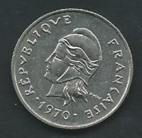 NOUVELLE CALEDONIE 10 Francs 1970  - Pia 23102 - New Caledonia