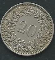 1950 - Suisse - Switzerland - 20 RAPPEN, - Pia 23103 - Suisse