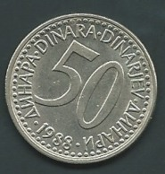 Yougoslavie    50 DINAR 1988 JOEGOSLAVIE  Pia 23111 - Joegoslavië