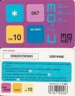 37/ Montenegro; Monet, Old Prepaid GSM Card - Montenegro