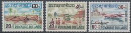 Laos 1967 - Mekong Delta Flood Relief - Mi 197-199 ** MNH - Laos