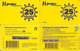 39/ Netherlands; PTT Telecom, 2 Old Prepaid GSM Cards - Pays-Bas