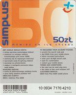 42/ Poland; Polkomtel, Old Prepaid GSM Card - Pologne