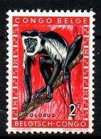 CONGO BELGE. N°356 De 1959. Colobe. - Singes