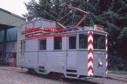 Reproduction D'une Photographie D'un Ancien Tramway Avec Nacelle à Wuppertal En Allemagne - Reproducciones