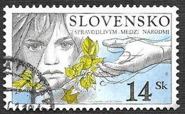 SLOVAQUIE 2001 - YT 355 - Jour Des Victimes De L'Holocauste - Oblitéré - Used Stamps