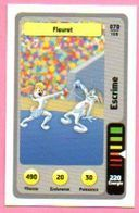 IM480 : Carte Looney Tunes Auchan 2014 / N°070 Escrime Fleuret - Sammelkartenspiele (TCG, CCG)