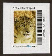 BRD - Privatpost Biberpost -  Katzen Cats - Schneeleopard Oder Irbis (Panthera Uncia) - Private & Local Mails