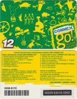 45/ Romania; Connex, 2 Old Prepaid GSM Card - Roumanie