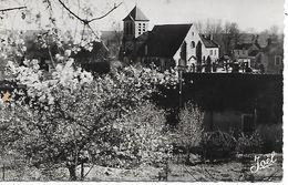 MONTIGNY-SUR-LOING - ( 77 ) - L'eglise  ( C.P.S.M -Pt-Ft ) - Moret Sur Loing