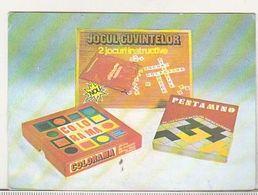 Romania Old 1985 Small Calendar - Petit Format : 1981-90