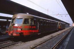 Reproduction D'une Photographie D'un Train En Gare FFS à Venise En Italie En 1976 - Reproducciones