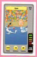 IM482 : Carte Looney Tunes Auchan 2014 / N°072 Escrime Épée (sans Impression De La Categorie) - Sammelkartenspiele (TCG, CCG)