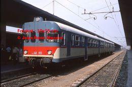 Reproduction D'une Photographie D'un Train Fiat En Gare FFS à Venise En Italie En 1976 - Reproducciones
