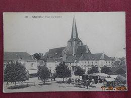 CPA - Chabry - Place Du Marché - Francia