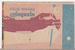 Romania Old 1988 Small Calendar - Read Magazin Magazine - Petit Format : 1981-90