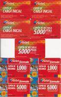 61/ Spain; Airtel, 25 Old Prepaid GSM Cards - Espagne