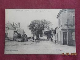 CPA - Chatillon-sur-Indre - Entrée Du Mail - Quartier St-Antoine - Francia