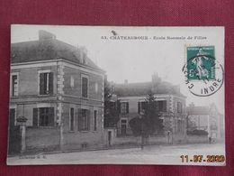 CPA - Châteauroux - Ecole Normale De Filles - Chateauroux