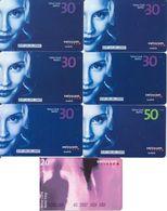 68/ Switzerland; Swisscom, 7 Old Prepaid GSM Cards - Suisse