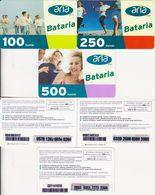 69/ Turkey; Aria, 3 Old Prepaid GSM Cards - Turquie
