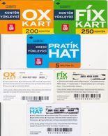 70/ Turkey; TelSIM, 3 Old Prepaid GSM Cards - Turquie