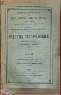 Bulletin Technologique Des Anciens élèves Ecoles Arts Et Métiers Gadzarts Février 1902 Machines à Vapeur - Ohne Zuordnung
