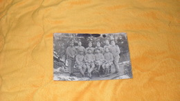 CARTE POSTALE PHOTO ANCIENNE CIRCULEE DATE ?..PHOTO MILITAIRES  A IDENTIFIER.. - Guerra 1914-18