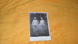 CARTE POSTALE PHOTO ANCIENNE NON CIRCULEE DATE ?..PHOTO MILITAIRES  A IDENTIFIER.. - Guerra 1914-18