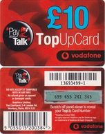 76/ United Kingdom; Vodafone, Old Prepaid GSM Card - Royaume-Uni